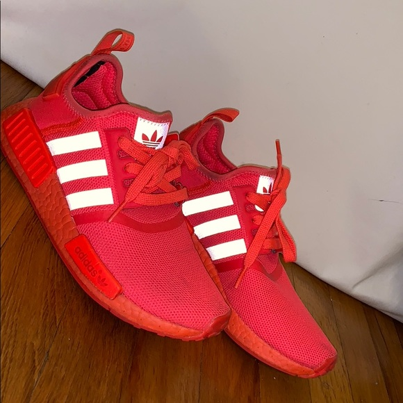 cheap for discount 62159 cdfc1 Triple Red NMD R1. Worm before. Size 6.5 mens